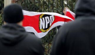 Ob die NPD verfassungstreu ist? Dazu wollten sich die Karlsruher Richter nicht äußern. (Foto)