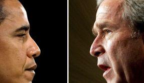 Obama Bush (Foto)