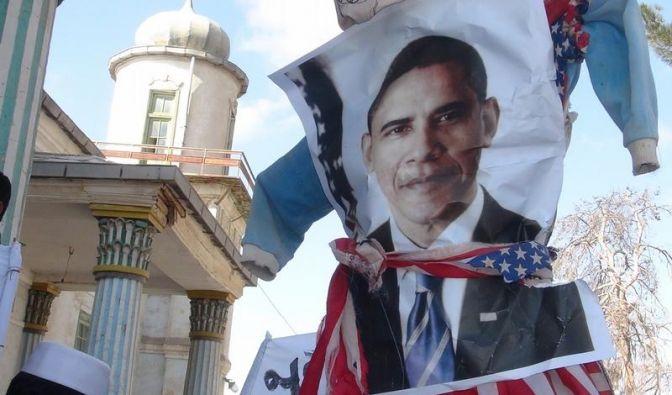 Obama entschuldigt sich für Koranverbrennung (Foto)