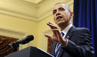 Obama gibt im Steuerstreit nach (Foto)