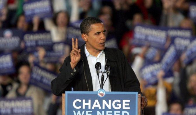 Obama im Wahlkampf (Foto)