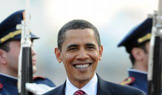 Obama in Prag (Foto)