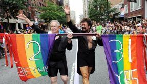 Obama macht sich öffentlich für Schwulen-Ehen stark (Foto)