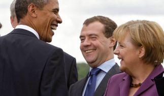 Obama Merkel Medwedew (Foto)