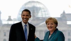 Obama Merkel (Foto)
