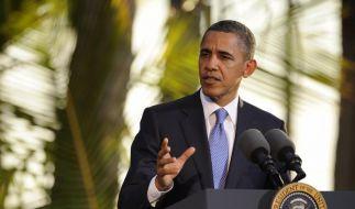 Obama schließt Gewalt gegen Iran nicht aus (Foto)