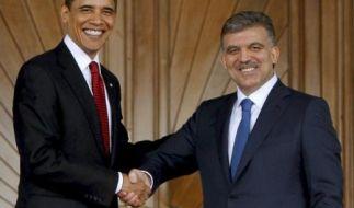 Obama: Türkei gehört in die EU (Foto)