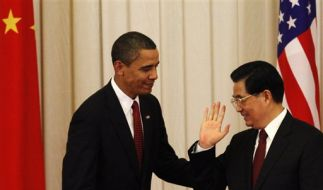 Obama und Hu Jintao (Foto)