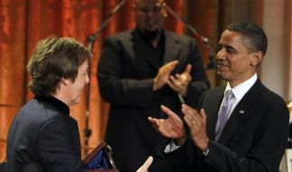 Obama und McCartney (Foto)