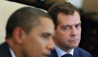 Obama und Medwedew (Foto)