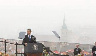Obama will atomwaffenfreie Welt - Jubel in Prag (Foto)