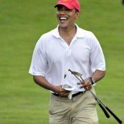 Hält sich mit Golf und anderem Sport fit: US-Präsident Barack Obama.