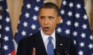 Obamas Grundsatzrede (Foto)