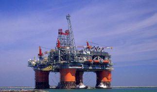 Ölplattform im Golf von Mexiko (Foto)