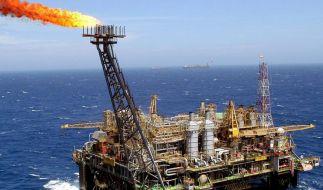 Ölplattform (Foto)