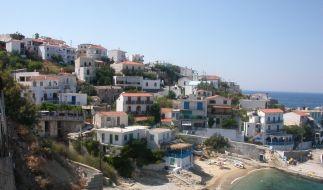 Österreich hat Geld, aber keinen Strand, auf der griechischen Insel Ikaria ist es umgekehrt: Ansicht von Armenistis, der Hauptstadt von Ikaria. (Foto)