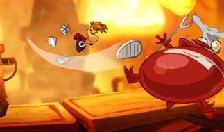 Ohne Slapstick kommt Rayman Origins nicht aus. Das macht beim Spielen richtig gute Laune. (Foto)