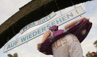 Oktoberfest zu Ende (Foto)
