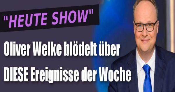 Heute show vom in der zdf mediathek for Spiegel tv magazin heute themen