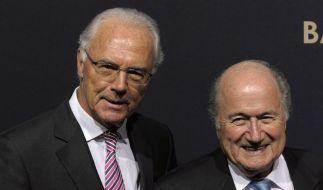 Olympia 2018: Beckenbauer weist Vorwürfe zurück (Foto)