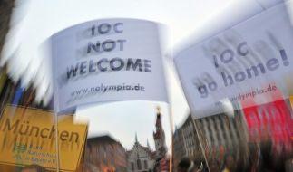 Olympia-Gegner reichen Unterschriften ein (Foto)