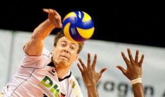 Olympia-Quali: Klarer Auftaktsieg für Volleyballer (Foto)