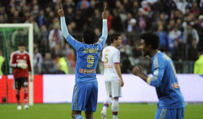 Olympique Marseille gewinnt Liga-Pokal (Foto)