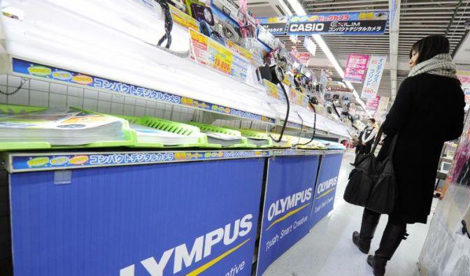 Olympus bestätigt massiven Stellenabbau (Foto)