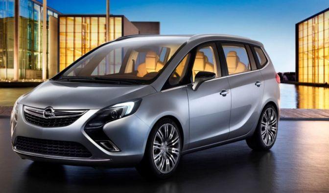 Opels Mittelklasse-Van von morgen (Foto)