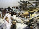 Opfer des Erdbebens in der Stadt Ahar im Nordwesten Irans. (Foto)