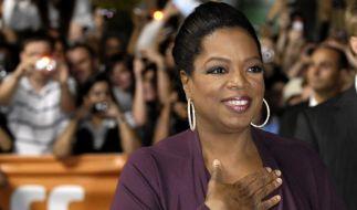Oprah Winfrey ist wichtigste Prominente (Foto)