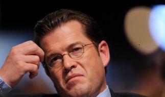 Orden wider den tierischen Ernst an zu Guttenberg (Foto)