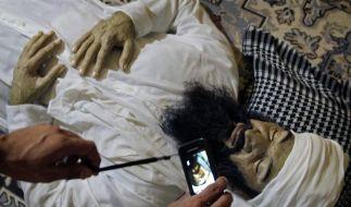 Osama bin Laden ist auf Kuba aufgetaucht. (Foto)