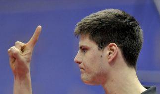 Ovtcharov führt Tischtennis-Europa gegen Asien an (Foto)