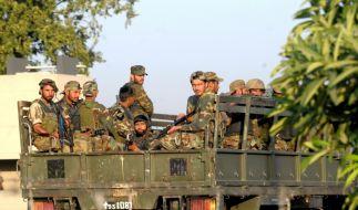 Pakistanische Soldaten (Foto)