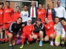 Palästinas Fußballerinnen trainieren in Potsdam (Foto)