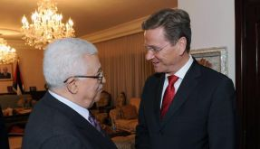 Palästinenser von Westerwelle enttäuscht (Foto)
