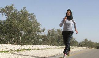 Palästinensischer Olympia-Traum: Israelis besiegen (Foto)