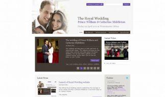Palast schaltet Website mit Hochzeits-Infos frei (Foto)