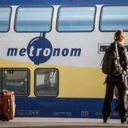 Wieder Angriff im Zug! 22-Jähriger zückt Messer (Foto)