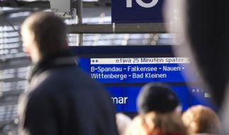 Pannenserie geht weiter: Berliner S-Bahn stand still (Foto)