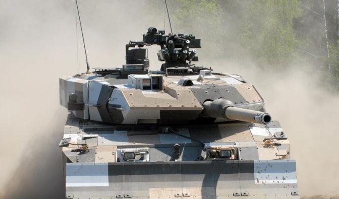 Panzer-Deal entfacht Diskussion bei Krauss-Maffei (Foto)