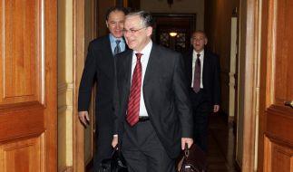 Papademos wird neuer griechischer Regierungschef (Foto)