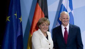 Papandreou in Berlin (Foto)