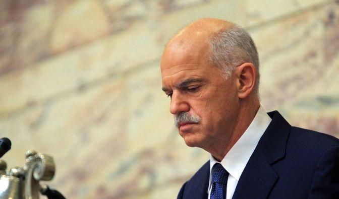 Papandreou verunsichert mit Referendum Eurozone (Foto)