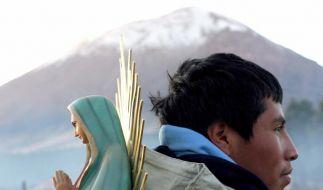 Papst Benedikt beginnt Besuch Mexikos und Kubas (Foto)