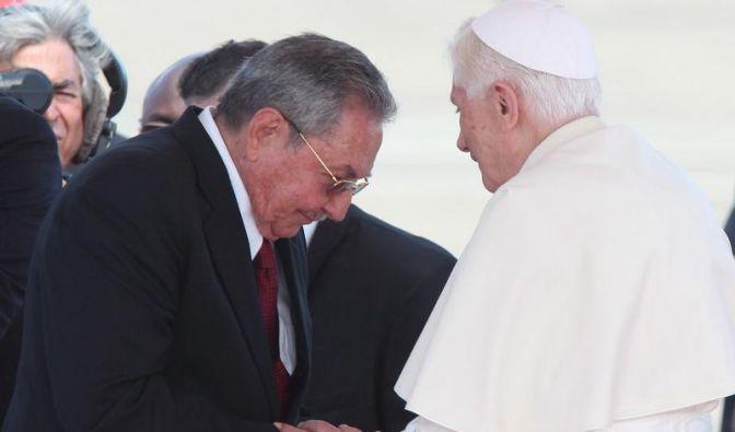 Papst Benedikt für «mehr Fortschritte» in Kuba» (Foto)