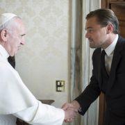 Darum besuchte Leonardo DiCaprio Papst Franziskus (Foto)