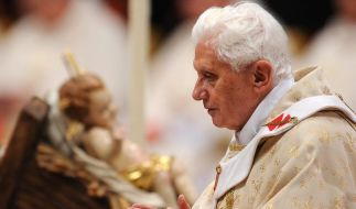 Papst ruft zu Frieden und Solidarität auf (Foto)