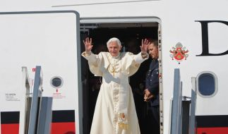 Papstbesuch endet (Foto)